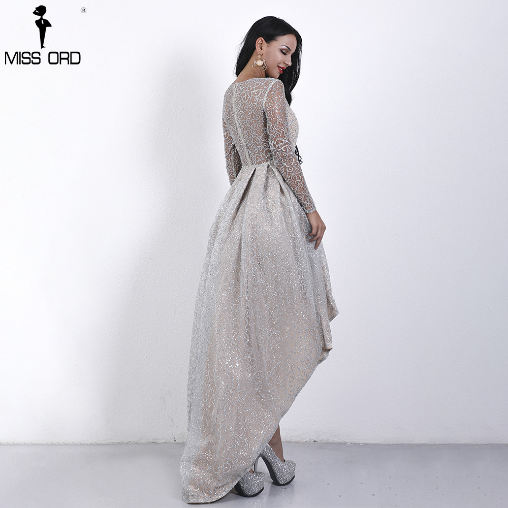 Missord 2019 Women Sexy O Neck Long Sleeve Glitter Dresses Female Evening  Party Maxi Elegant Dress Vestdios FT18495 1-in Dresses from Women s  Clothing on ... d0bc40351e27