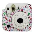 Цветок Искусственная Кожа Камера Сумка Протектор Для Fujifilm Polaroid Instax Mini8 Камеры/Видео Сумки
