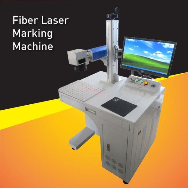 High Speed 20W Fiber Laser Marking Machine No Need Maintenance,Laser Metal Engraver