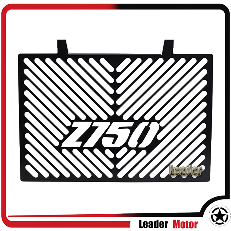 For Kawasaki Z750 Z 750 2008-2012 Motorcycle Accessories Radiator Grille Guard Cover Protector Black motorcycle radiator protective cover grill guard grille protector for kawasaki z1000sx ninja 1000 2011 2012 2013 2014 2015 2016