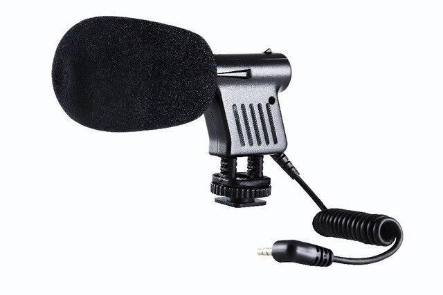 Боя BY-VM01 направленный видео конденсаторный микрофон для Nikon DSLR камеры для канона Sony Gopro DSLR видеокамера