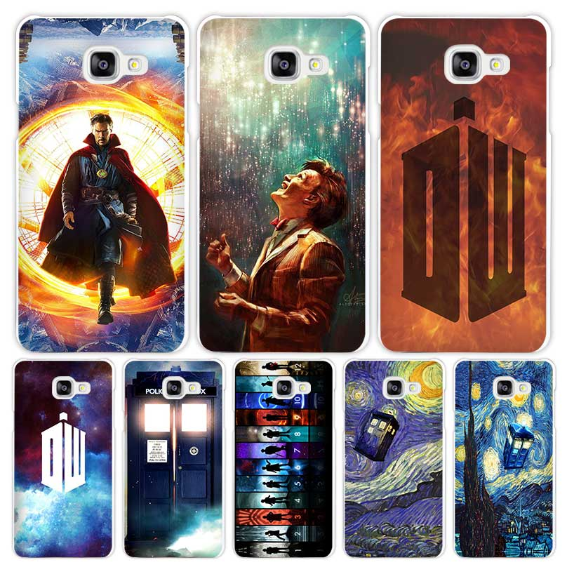 Doctor Who Hard White Coque Shell Case Cover Phone Cases for Samsung Galaxy A3 A5 A7 2016 2017 A8 A9