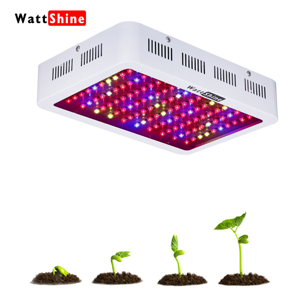Whole hot seller 300W Led Grow Lights Panel 3W Led plant lamps for indoor Greenhouse hydroponic