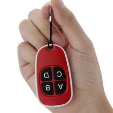 4 ключа гаражные ворота брелок 433 копировальный аппарат MHz дубликат CAME пульт дистанционного управления дверной ключ беспроводной пульт дистанционного управления