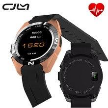Smart watch no. 1 g5 9,9mm ultradünne herzfrequenz tracker smartwatch sport sprachsteuerung montre verbindungsstück für ios android