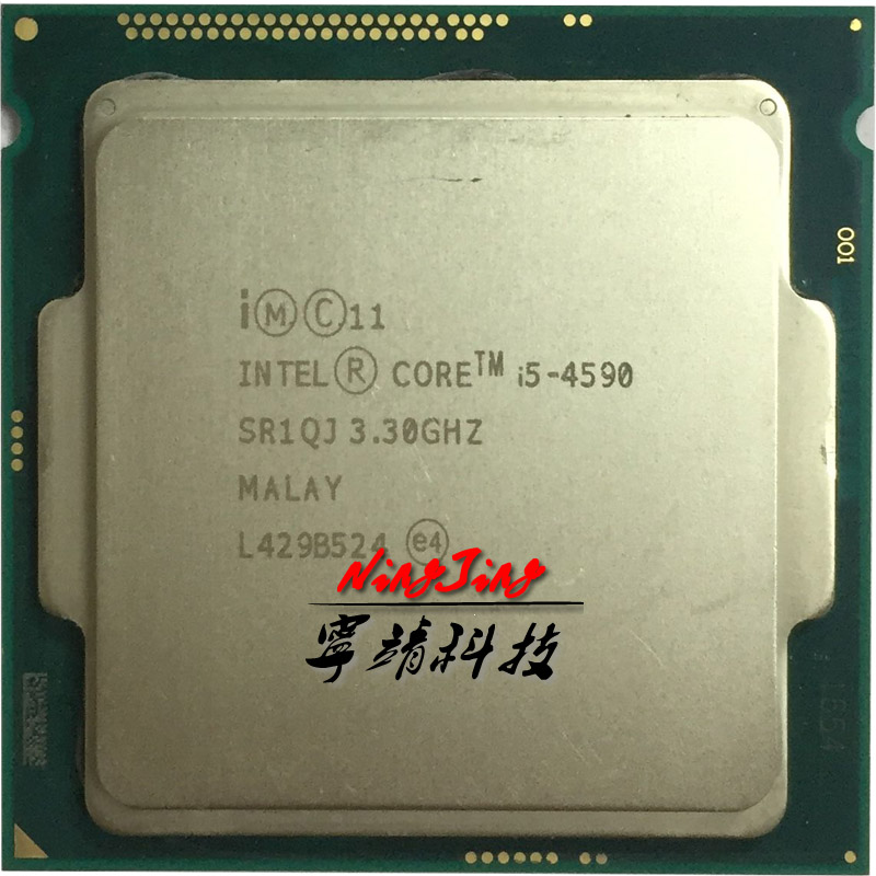 Intel Core i5 4590 i5 4590 3 3 GHz Quad Core CPU Processor 6M 84W LGA