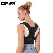 OPER Adjustable Shoulder Bandage Back Belt Posture Corrector Back Support Brace Posture Belt Back Brace Rectify Health Care
