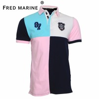 Eden SERIGE Park High Quality Patchwork Style Summer Collection Mens Polo Shirts Superior Material Horse France