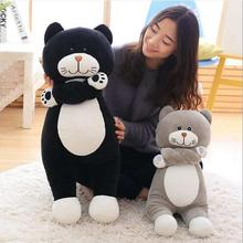 WYZHY station cat plush toy doll home decoration bed pillow to send parent-child gifts 80CM