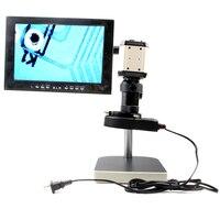 Hot sale Free shipping LED ring Light 2PM USB/VGA/CVBS interface Industrial Microscope Camera