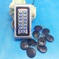 NUEVA IP68 A Prueba de agua RFID/EM de Proximidad Teclado de Control de Acceso de la Puerta Sistema de Control de Acceso de Metal Abridor de Puerta