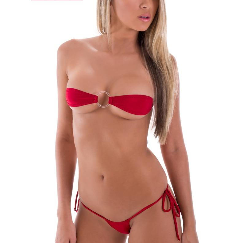 Agree, sexy red string bikini think