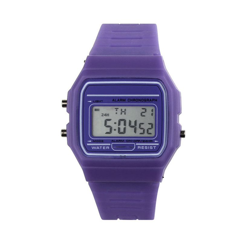 New Fashion Unisex Digital Watches Casual slim Silicone Band Led life waterproof Outdoor Sports Wristwatch