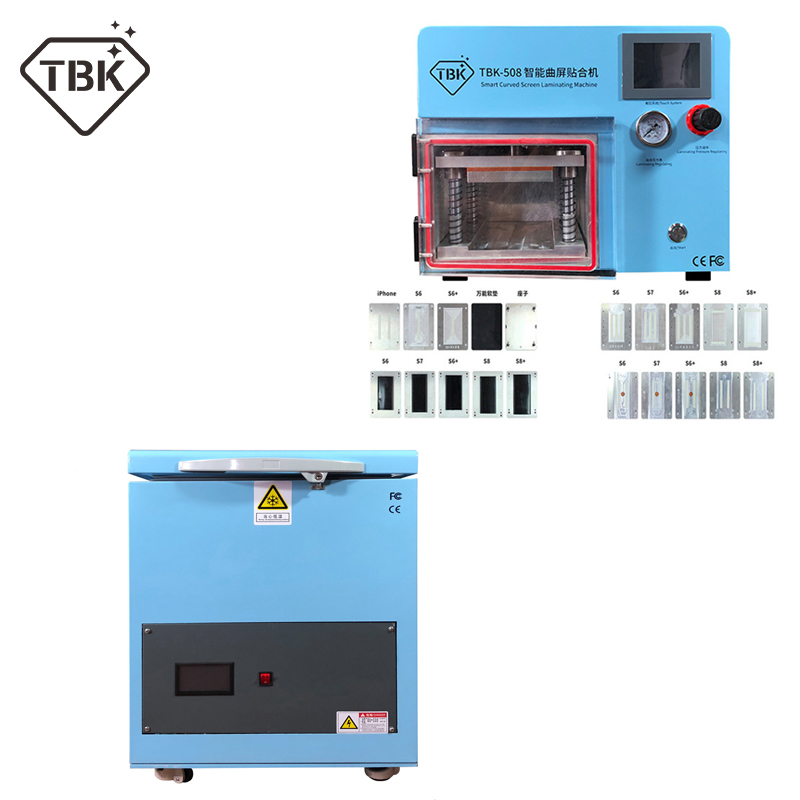 TBK 508 5 in 1 Smart Curved LCD Screen Vacuum Laminating Machine 180C Frozen separator professional