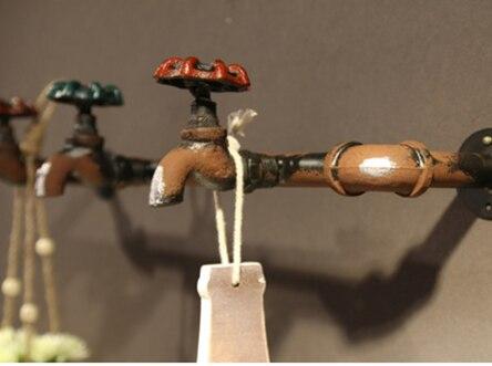 vintage faucet hooks