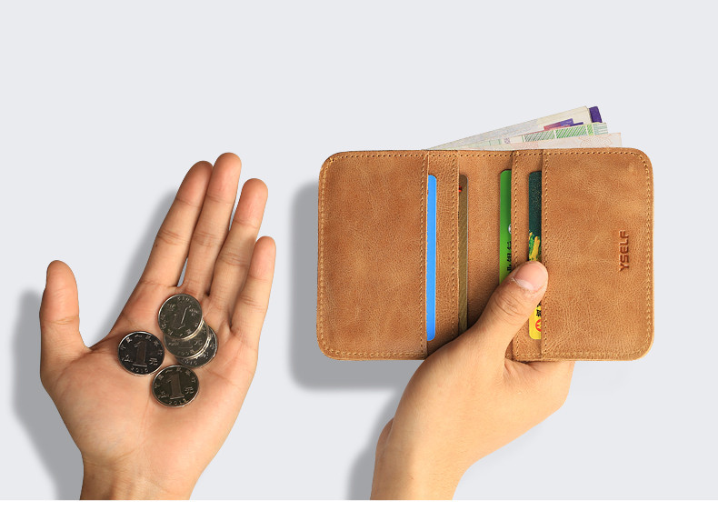 genuine leather men wallets  (6)