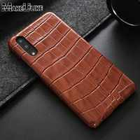 MAKEULIKE Genuine Leather Case For Huawei P20 Pro Protective Back Cover Fashion Coque For Huawei P20/P20 Pro Case Fundas