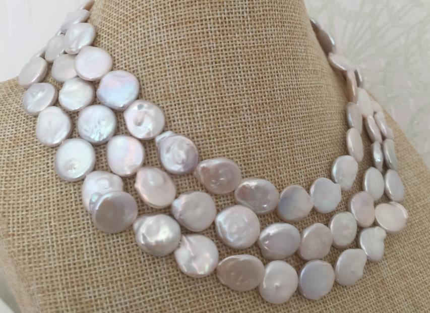 цена gorgeous 11-12mm south sea white baroque pearl necklace 38inch 925 silver