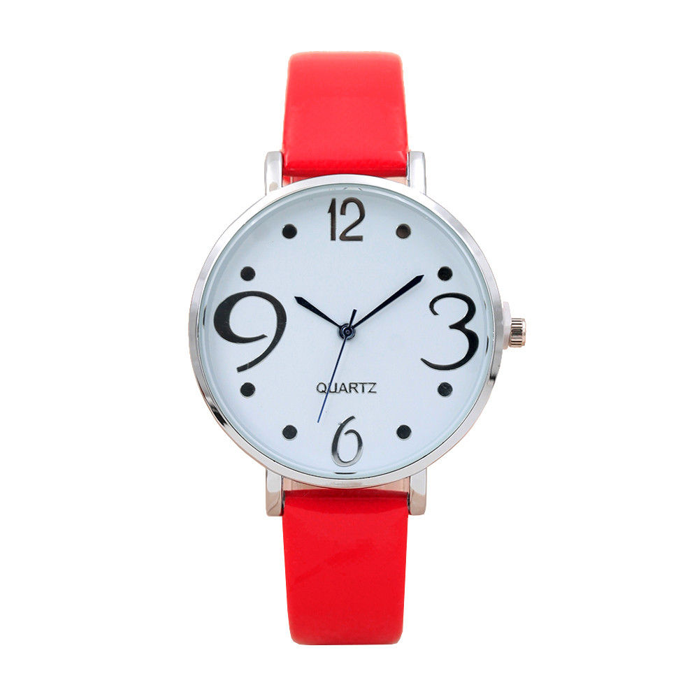 Women's Watch Fashion Women Retro Digital Dial Leather Band Quartz Analog Wrist Watch Watches ladies wristwatches AT50 new fashion women retro digital dial leather band quartz analog wrist watch watches wholesale 7055