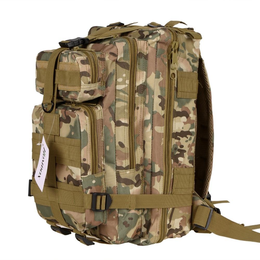 Men Women Canvas Backpack Homdox Multifunctional Outdoor Military Tactical Backpack Rucksacks Sport Camping Hiking Trekking Bag
