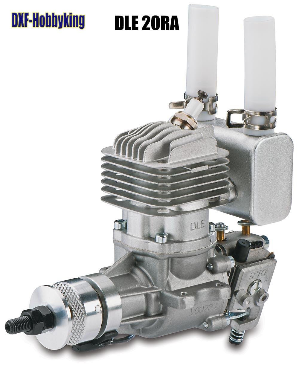 2017 DXF bonne qualité DLE 20 RA moteur à gaz d'origine pour modèle d'avion RC vente chaude, DLE20RA, DLE 20RA, DLE-20RA, DLE