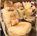 4pcs Luxury winter Warm Plush universal Car Seat Covers Front and Rear Seat Covers