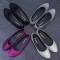 Free shipping 2016 spring hot female comfortable flat shoes women flat