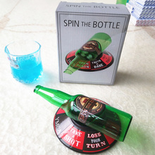 Sport Turntable Toys Spin The Shot Drinking Game Shot Glass Spinner Fun Party Drinking Game (Spin the bottle) стоимость
