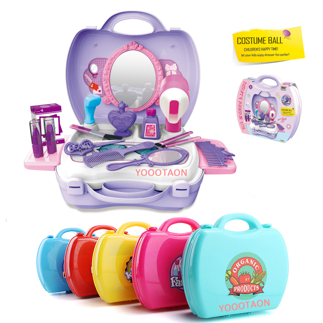 Fantasy Based Pretend Play Is >> Kitchen Toolbox Medical Pretend Play Girls Toys Mini Food Fantasy