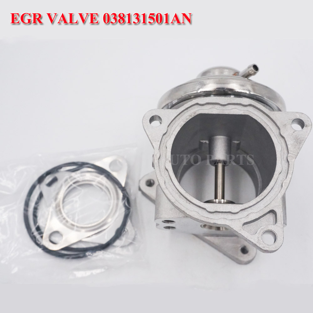 EGR Valve For VW Bora/Golf Plus 4 MK4 5 MK5/Jetta 3 MK3/Lupo/Passat/Polo/Touran 038131501AF <font><b>038131501AN</b></font> 038129637D image