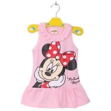 Disney Baby Girl Dress Mickey Children Minnie Newborn Clothes Cartoon Roupas Bebe Kids Clothing