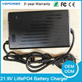 21.9V 7A 7.5A 8A 8.5A 9A 9.5A 10A Intelligent LifePO4 Battery Charger For 1lifepo4 Battery Pack