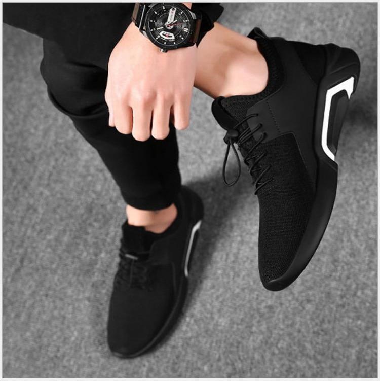 Calçado Olpay Masculino Lace up Moda Outono Respirável Qualidade 2 1 Casuais Primavera Alta Sapatos Sneakers Novos Confortável Malha Homens Dos T0xrqaYwT