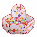 1m 1.2m 1.5m Baby Playpens Safety Tents for Children with Basketry Kids Play Tent Mesh Indoor Stress Ocean Ball Pool Play Yard