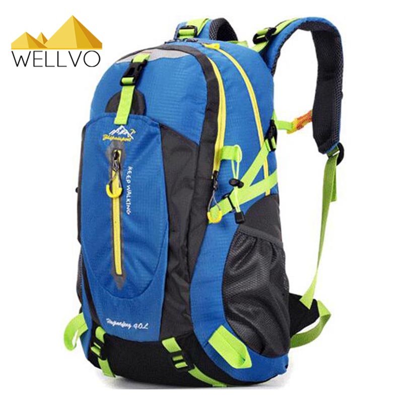 Large Capacity Military Backpack Crutch Bag Rucksack Waterproof Nylon Travel Packs 2017 Hot Sale 40L Bolsas Mochila Blue XA735C 2017 large capacity waterproof nylon golf boston bag travel clothing bag with separate golf shoes bag embroidery logo