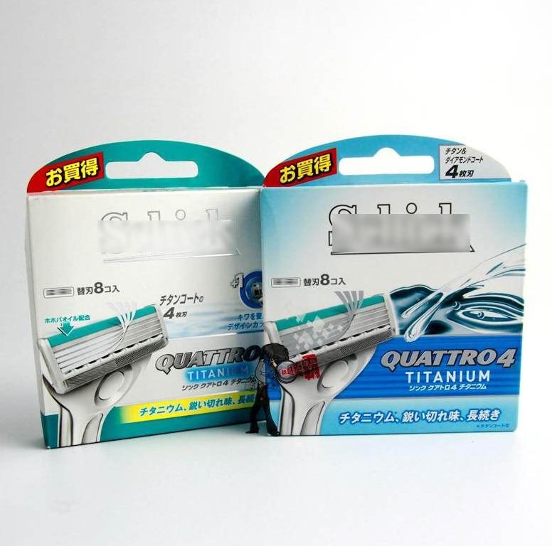 12 Cartridges Lot 2016 New Original Shick Genuine Quattro