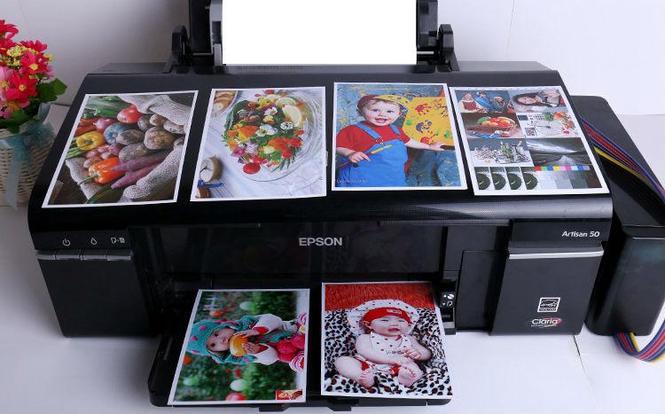 Купить с кэшбэком Jetland Inkjet Photo Paper 4x6 Inches, 100 Sheets (230gsm)  4R(A6) high glossy imaging printing paper
