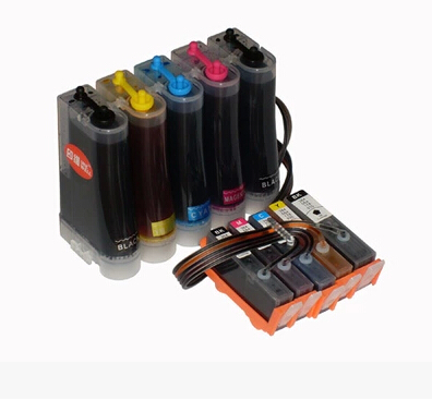 ФОТО Ink Cartridge for HP 564 CISS continuous ink supply system with ink with chip for HP B109a B110a  Printer