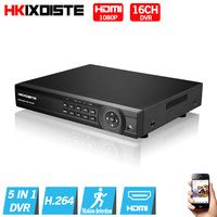 Home Surveillance 16ch DVR HD AHD 1080P Security CCTV DVR Recorder HDMI 1080P 16 Channel