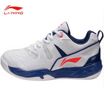 Li-Ning 2017 New Men Badminton Shoes Men Professional Shoes Cushioning Breathable Training Wear Resistant AYTM069