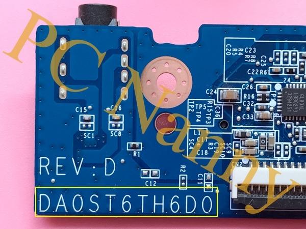 DA0ST6TH6D0 for lenovo Flex14 Flex14D Flex15 Flex15D audio board usb board sd reader