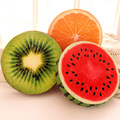 Personalizado 3d almofada de frutas melancia kiwi brinquedo de pelúcia de presente de aniversário almofada travesseiro