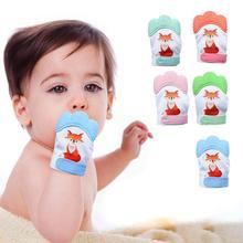 Perle силиконовые бусины Прорезыватель для зубов детская пустышка перчатка Прорезыватель для зубов жевательные Новорожденные кормящие варежки Прорезыватель для зубов бусины для младенцев Mordedor