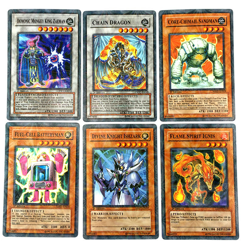 80pcs/set Anime Japan Yu Gi Oh Game Cards Carton Yugioh Game Cards  Yu-Gi-Oh Cards Collection For Fun With Japan  LegendaryToys