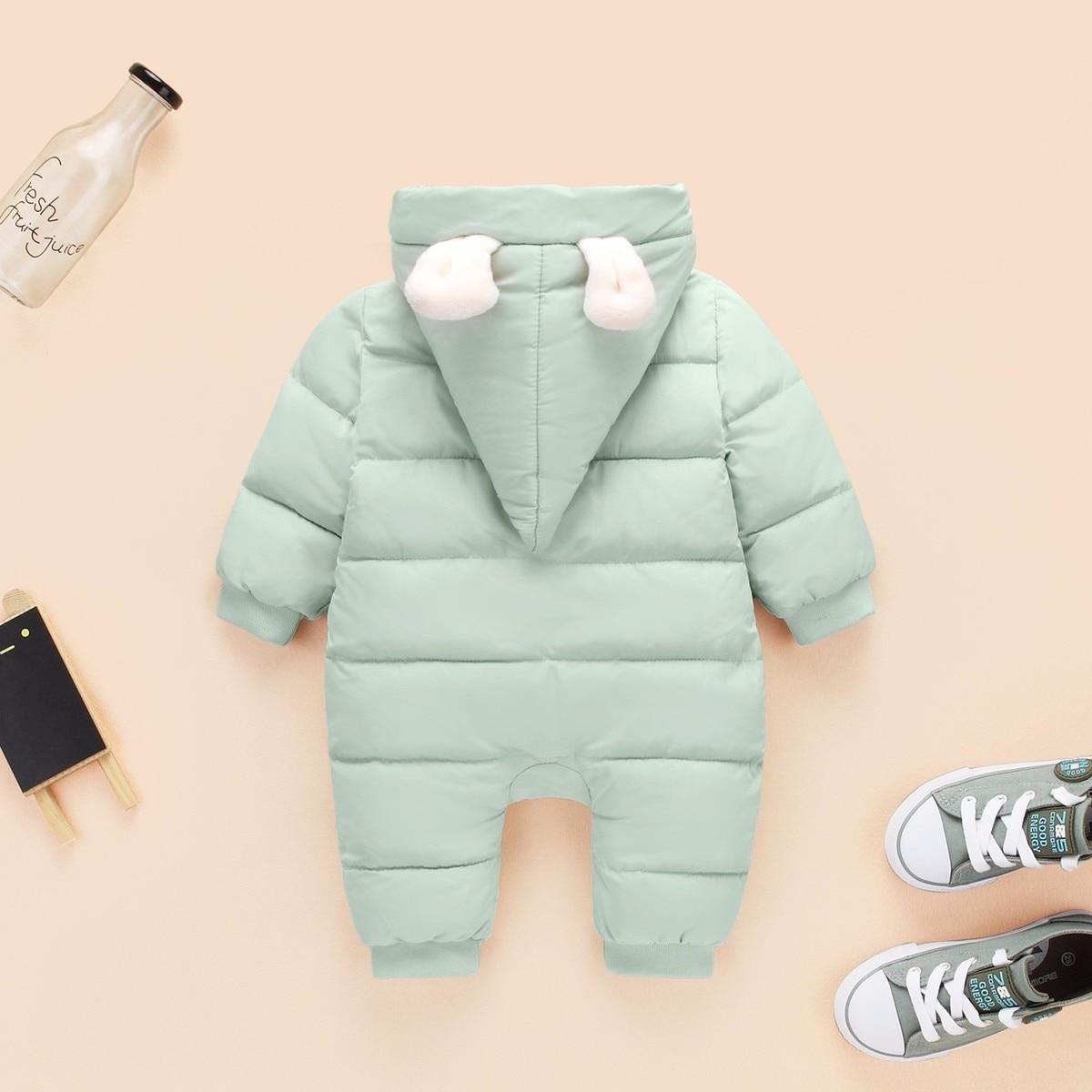 cecd14b58f36 sale retailer d539b d1ab1 baby girls boy snowsuit down cotton ...