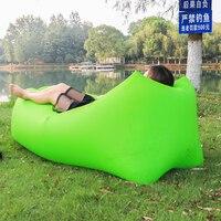 fast inflatable air sofa lay bag air sleeping bag camping portable sofa lounger beach bed air