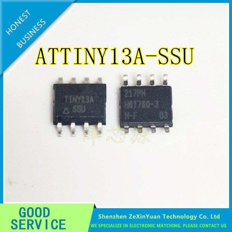 100pcs lot 100 New TINY13A ATTINY13A SOP 8 ATTINY13A SSU electronic components