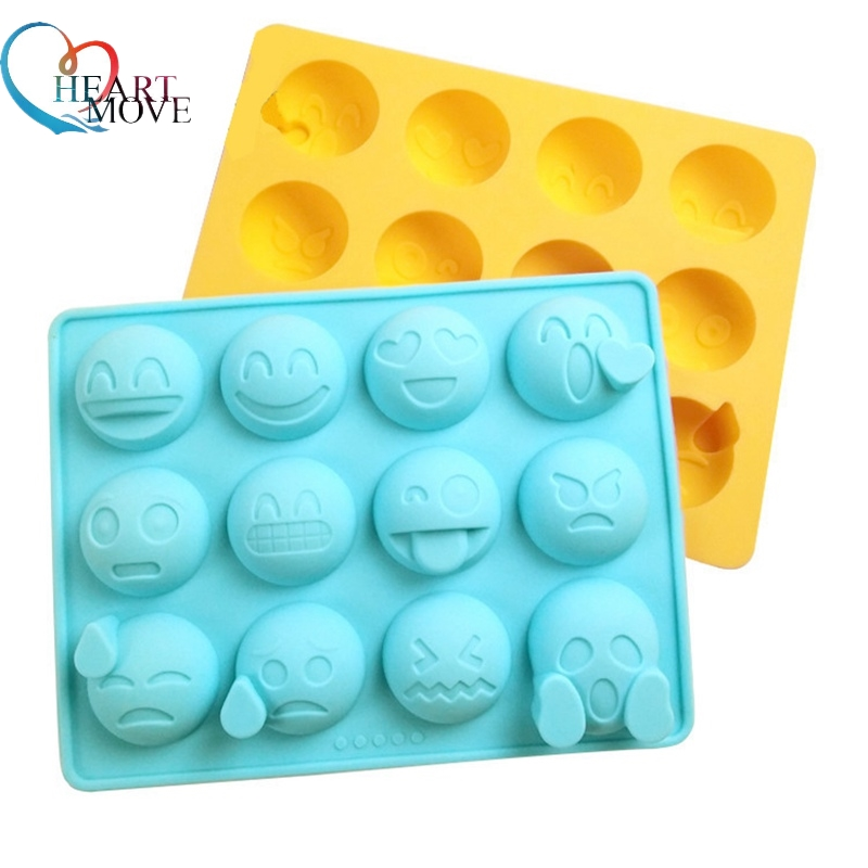 Home & Garden Cake Molds Loyal Cute Emoji Expression Silicone Personality Mold For Cake Chocolates Candy Ice Tray Baking Pattern Diy Baking Tools Kitchen Bar