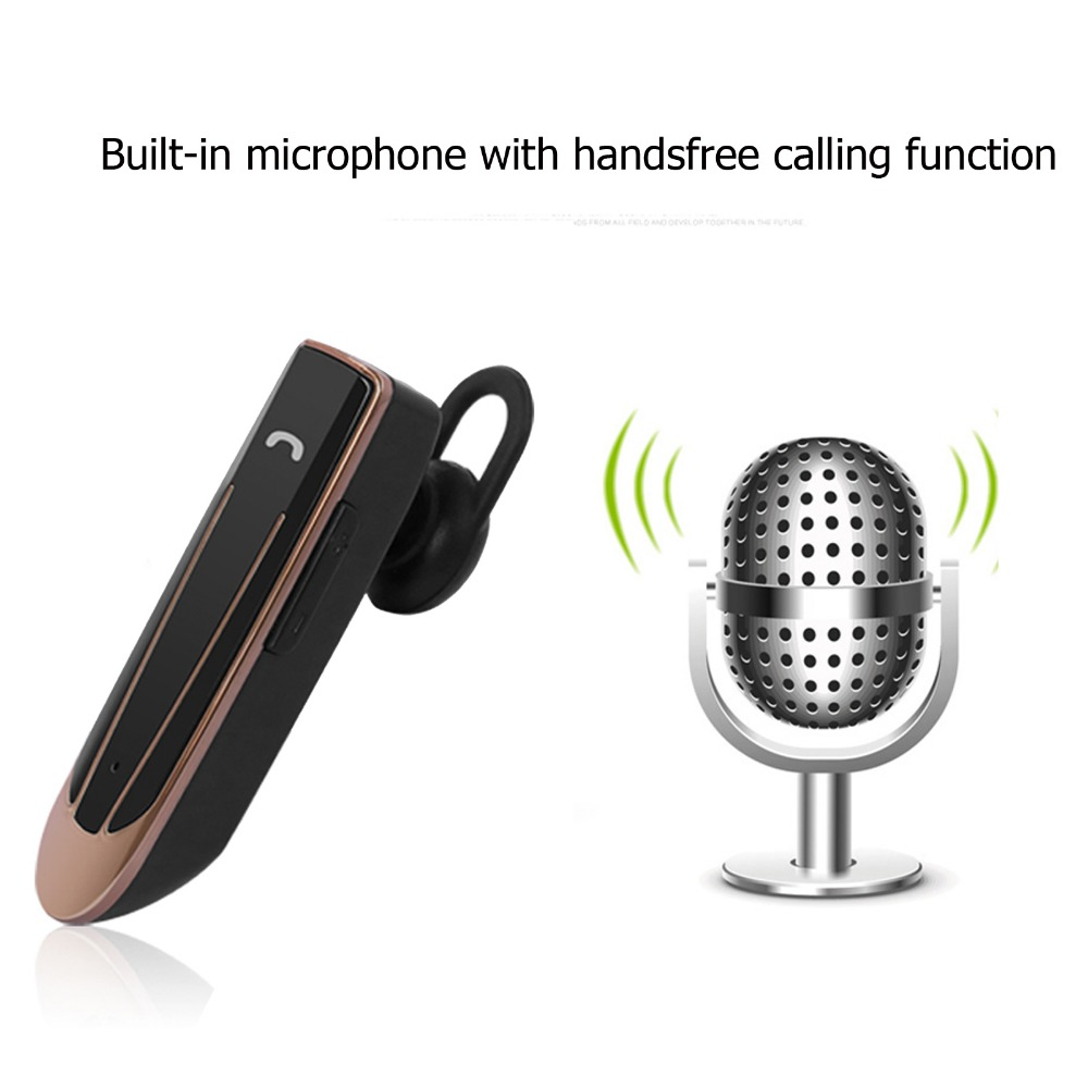 Bluetooth Headset Stereo Wireless Headphone With Mic Handsfree Earphone 22 Hours Playing Time For Samsung iPhone motorola LG HTC