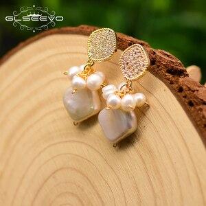 GLSEEVO Rhombic Baroque Pearl